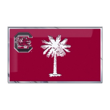Picture of South Carolina Embossed State Flag Emblem