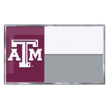 Picture of Texas A&M Embossed State Flag Emblem