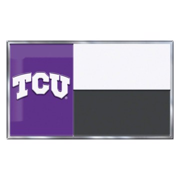 Picture of TCU Embossed State Flag Emblem