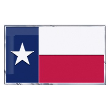 Picture of Texas, State of Embossed State Flag Emblem