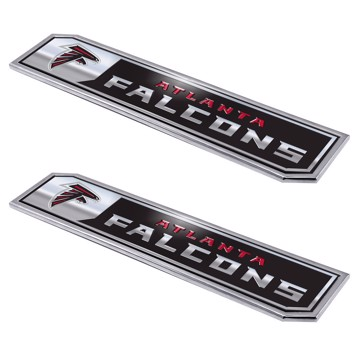 Picture of NFL - Atlanta Falcons Embossed Truck Emblem 2-pk