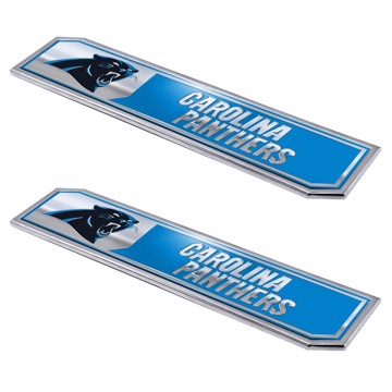 Picture of NFL - Carolina Panthers Embossed Truck Emblem 2-pk