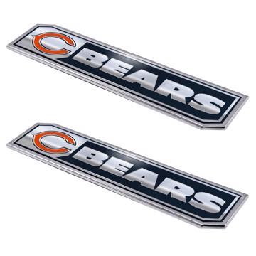 Picture of NFL - Chicago Bears Embossed Truck Emblem 2-pk