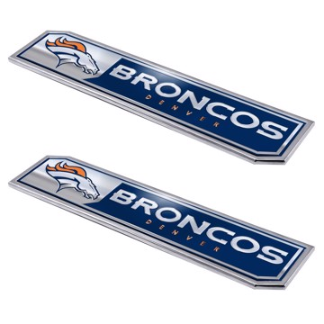 Picture of NFL - Denver Broncos Embossed Truck Emblem 2-pk