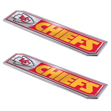 Picture of NFL - Kansas City Chiefs Embossed Truck Emblem 2-pk
