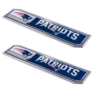 Picture of NFL - New England Patriots Embossed Truck Emblem 2-pk