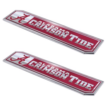 Picture of Alabama Embossed Truck Emblem 2-pk