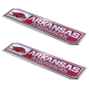 Picture of Arkansas Embossed Truck Emblem 2-pk