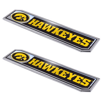 Picture of Iowa Embossed Truck Emblem 2-pk