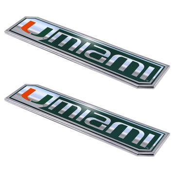 Picture of Miami Embossed Truck Emblem 2-pk