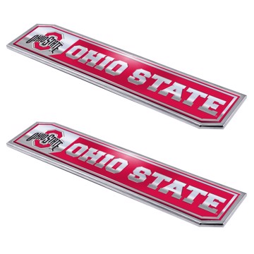 Picture of Ohio State Embossed Truck Emblem 2-pk