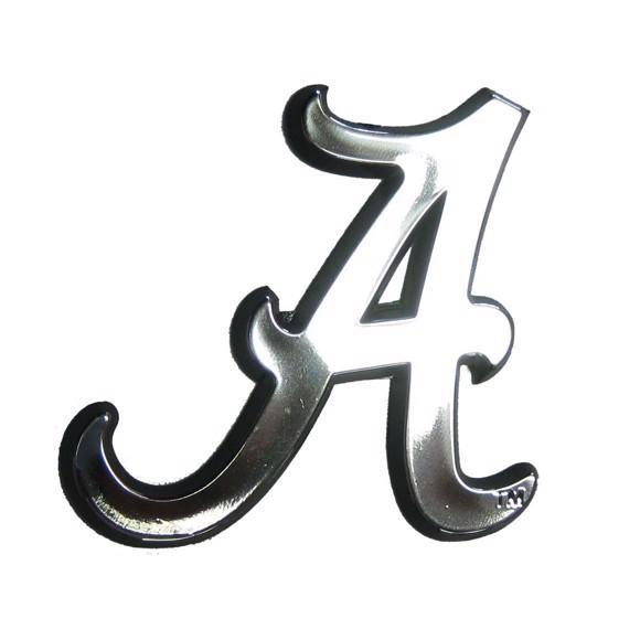 Picture of Alabama Molded Chrome Emblem
