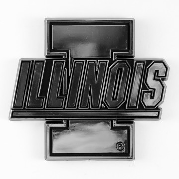 Picture of Illinois Molded Chrome Emblem