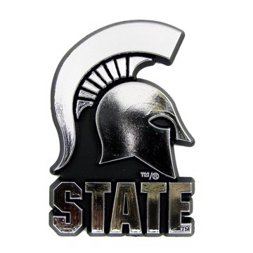 Picture of Michigan State Molded Chrome Emblem