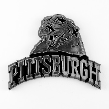 Picture of Pitt Molded Chrome Emblem
