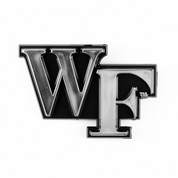 Picture of Wake Forest Molded Chrome Emblem