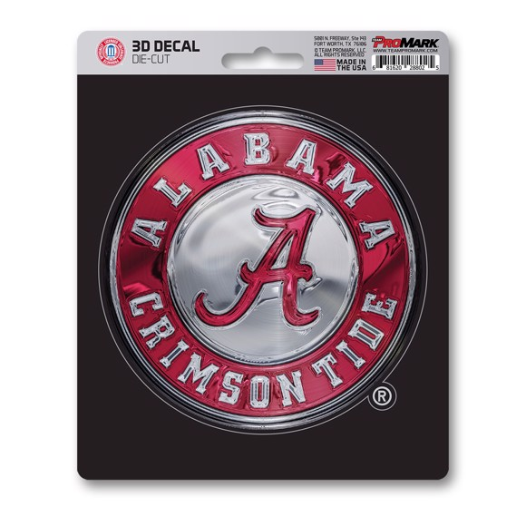 Picture of Alabama 3D Decal