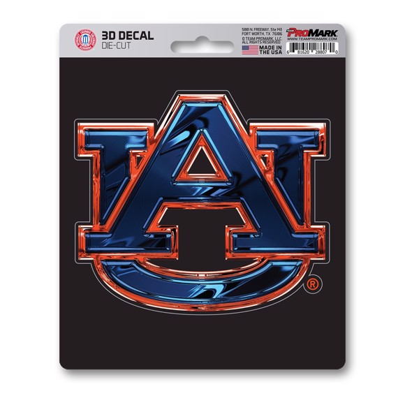 Picture of Auburn 3D Decal
