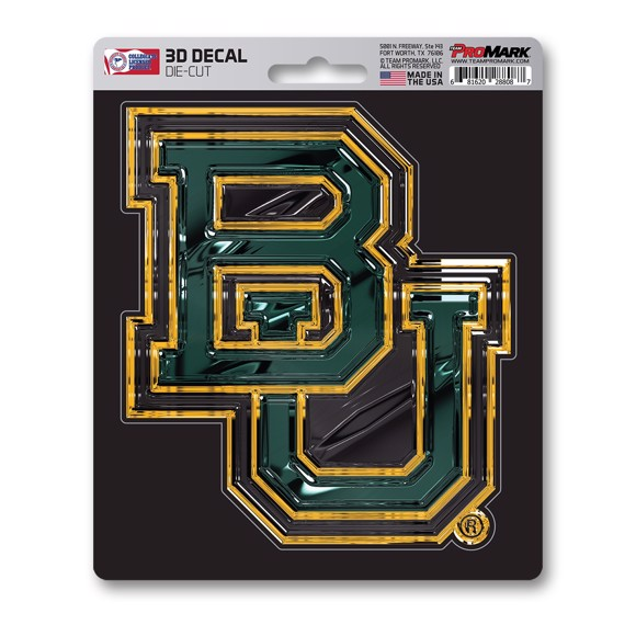 Picture of Baylor 3D Decal