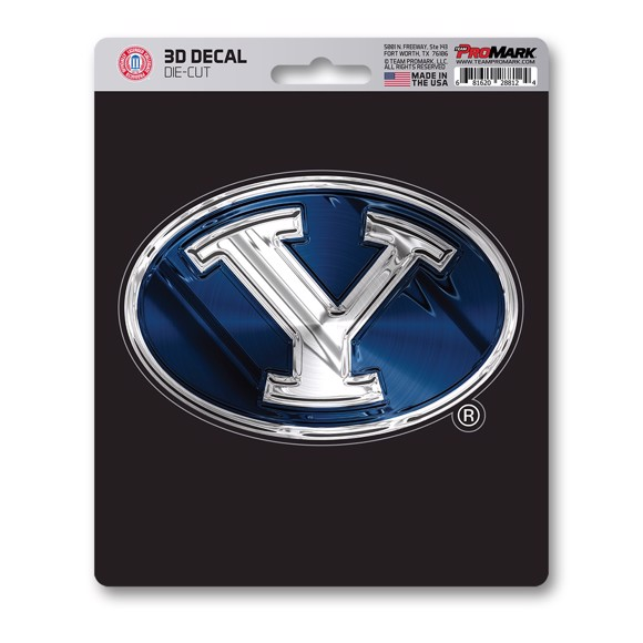 Picture of BYU 3D Decal
