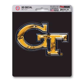 Picture of Georgia Tech 3D Decal