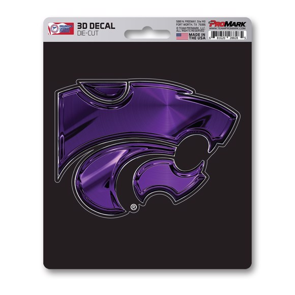 Picture of Kansas State 3D Decal