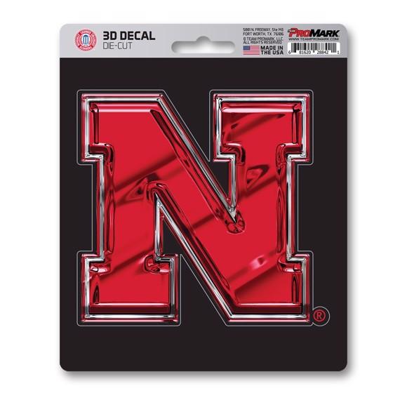 Picture of Nebraska 3D Decal