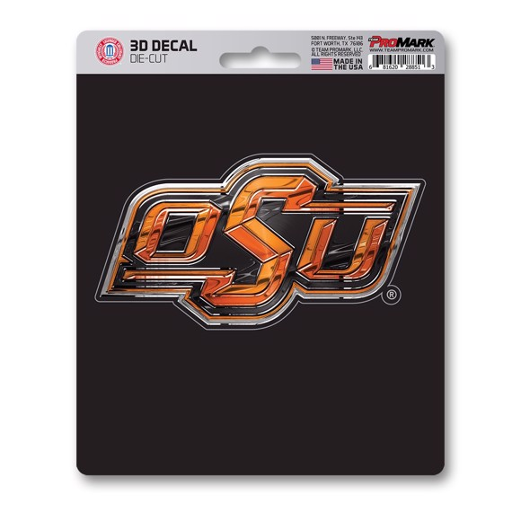 Picture of Oklahoma State 3D Decal