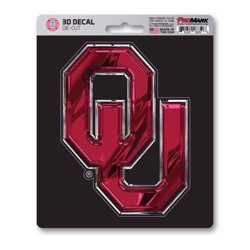 Picture of Oklahoma 3D Decal