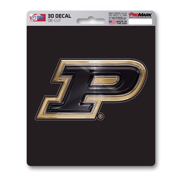 Picture of Purdue 3D Decal