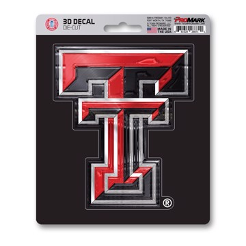 Picture of Texas Tech 3D Decal