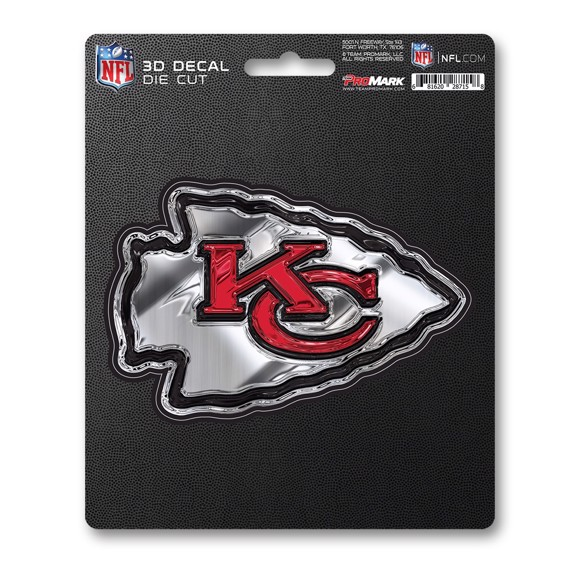 Picture of NFL - Kansas City Chiefs 3D Decal