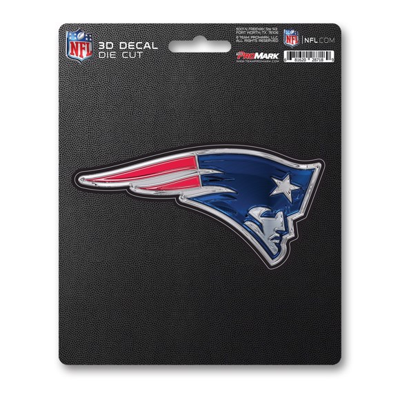 Picture of NFL - New England Patriots 3D Decal