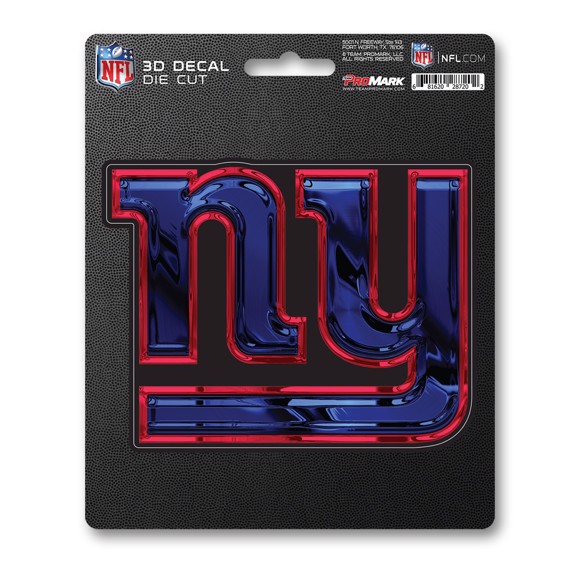 Picture of NFL - New York Giants 3D Decal