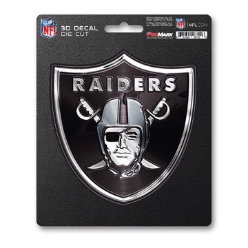 Picture of NFL - Las Vegas Raiders 3D Decal