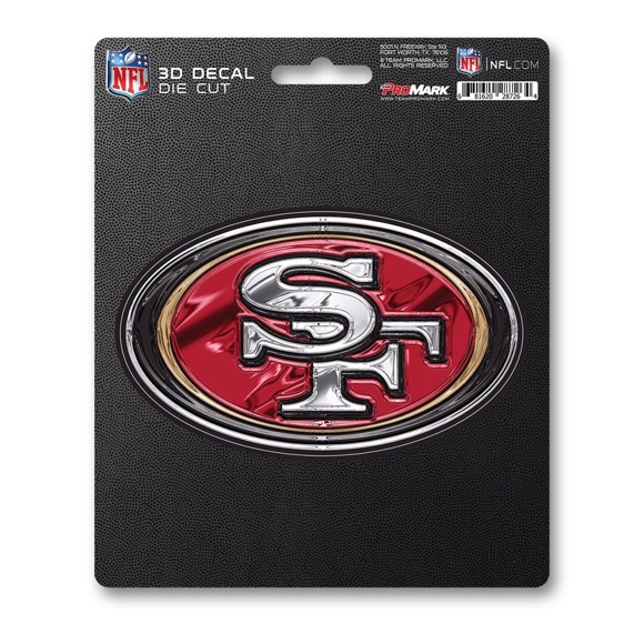Picture of NFL - San Francisco 49ers 3D Decal