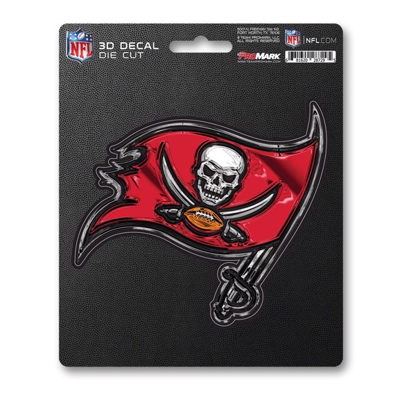 Picture of NFL - Tampa Bay Buccaneers 3D Decal
