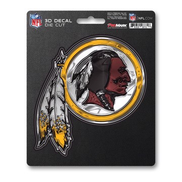 Picture of NFL - Washington Redskins 3D Decal