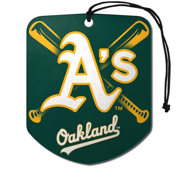 Picture of MLB - Oakland Athletics Air Freshener 2-pk