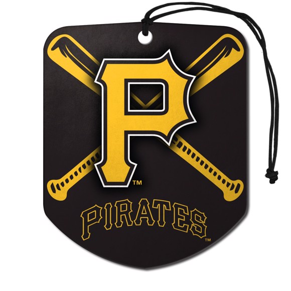Picture of MLB - Pittsburgh Pirates Air Freshener 2-pk
