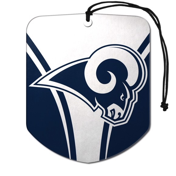 Picture of NFL - Los Angeles Rams Air Freshener 2-pk