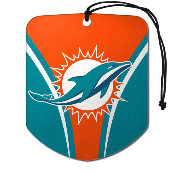 Picture of NFL - Miami Dolphins Air Freshener 2-pk