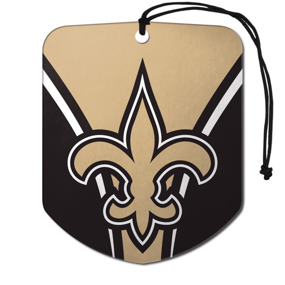 Picture of NFL - New Orleans Saints Air Freshener 2-pk