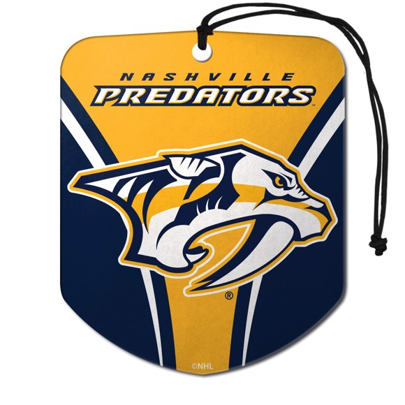 Picture of NHL - Nashville Predators Air Freshener 2-pk