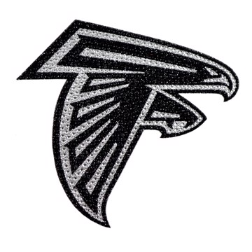 Picture of NFL - Atlanta Falcons Bling Decal