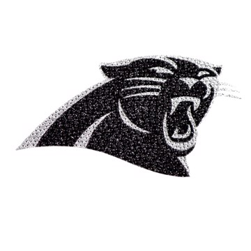 Picture of NFL - Carolina Panthers Bling Decal