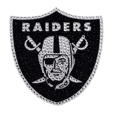 Picture of NFL - Las Vegas Raiders Bling Decal