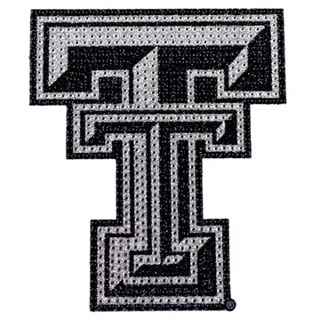 Picture of Texas Tech Bling Decal