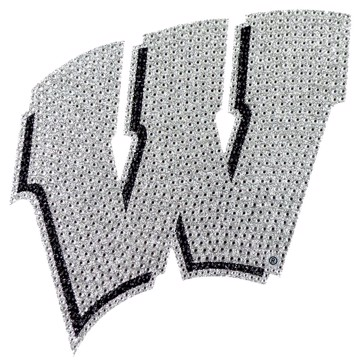 Picture of Wisconsin Bling Decal
