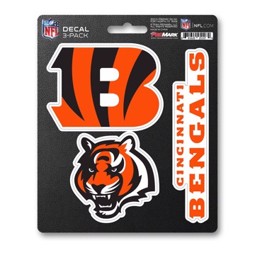 Picture of NFL - Cincinnati Bengals Decal 3-pk